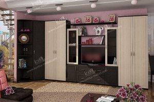 Гостиная Диана 1 угловая (модульная) - Мебельная фабрика «Контур»