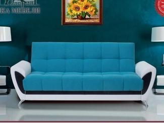 Голубой диван Сиеста 3 БД - Мебельная фабрика «Элегант К», г. Екатеринбург