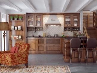 Кухня в стиле кантри Елизавета - Мебельная фабрика «Кухни Медынь»