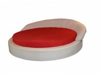Кровать круглая Маргарита - Мебельная фабрика «Тиолли»