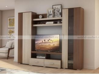 Гостиная Гармония 5 - Мебельная фабрика «Астрид-Мебель (Циркон)»