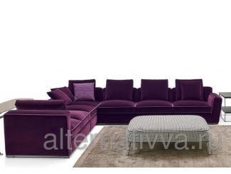 Изысканный угловой, модульный диван, DAROM 62 - Мебельная фабрика «Alternatиva Design»