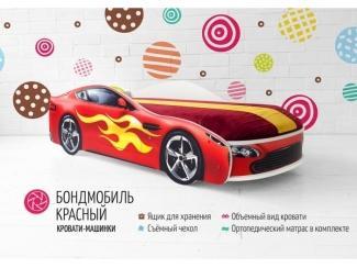 Детская кровать-машинка Бондмобиль