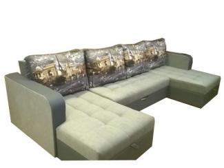 П-образный угловой диван - Мебельная фабрика «Глажево»