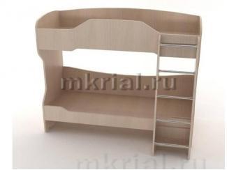 Кровать детская Двухъярусная Кт 03.02  - Мебельная фабрика «Риал»