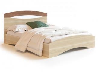 Кровать с изогнутым изголовьем Болеро  - Мебельная фабрика «Фран»