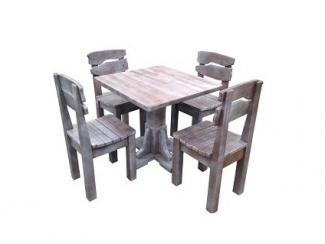 Обеденная группа Кристи из массива сосны - Мебельная фабрика «ARTWOOD»