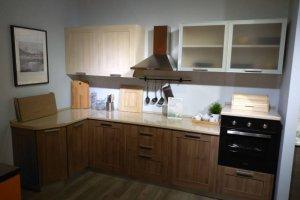 Кухня Лдсп в алюминиевой рамке - Мебельная фабрика «Мебелькомплект»