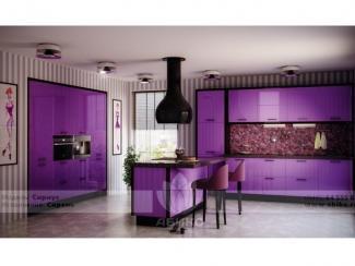 Кухня Сириус Сирень - Мебельная фабрика «Абико»