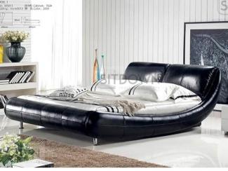Черная кровать Киото  - Мебельная фабрика «Sitdown»