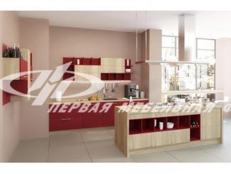 Кухонный гарнитур прямой Сингл - Мебельная фабрика «Первая мебельная фабрика»