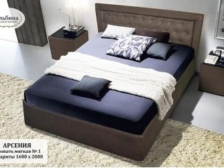 Мягкая кровать №1 - Мебельная фабрика «Альбина»