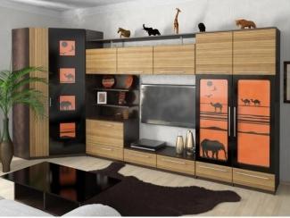 Гостиная с угловым шкафом Дюна-Сафари - Мебельная фабрика «Ольга»