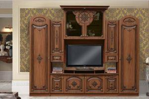 Стенка Венера с резными декорами  - Мебельная фабрика «Аристократ»