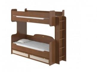 Кровать 2х ярусная 800 с настилом Робинзон - Мебельная фабрика «Интеди»
