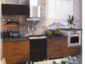 Кухонный гарнитур прямой Лайф4 - Мебельная фабрика «Фарес»