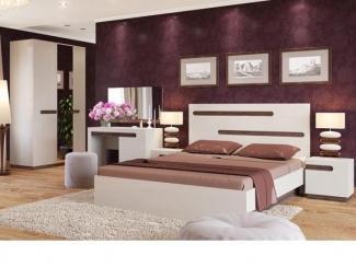 Стильная мебель для спальни Lucky  - Мебельная фабрика «Уфамебель»