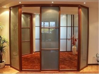 Большой шкаф-купе 8 с зеркалом - Мебельная фабрика «GradeMebel», г. Ульяновск