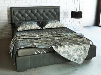 Кровать Олимпия (Grey) с поъемным механизмом - Мебельная фабрика «Askona»