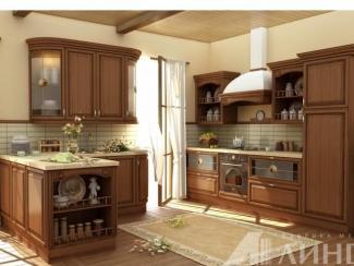 Кухня Мела Ноче массив - Мебельная фабрика «Линда»