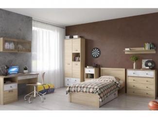 Спальня молодежная Дизель 1 - Мебельная фабрика «Анрекс»