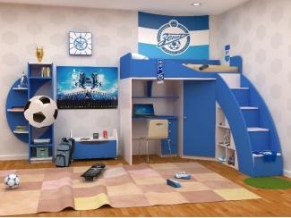 Удобная детская Футбол-Зенит  - Мебельная фабрика «ИнтерМебельДизайн»