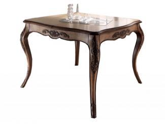 Стол квадратный резной - Импортёр мебели «Spazio Casa»