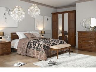 Спальня Адажио 1 - Мебельная фабрика «Ангстрем (Хитлайн)»