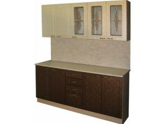 Кухонный гарнитур прямой Лаванда - Мебельная фабрика «Петербургская мебельная компания (ПМК)»