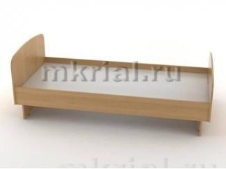 Простая односпальная кровать Кт 01.02/900  - Мебельная фабрика «Риал»
