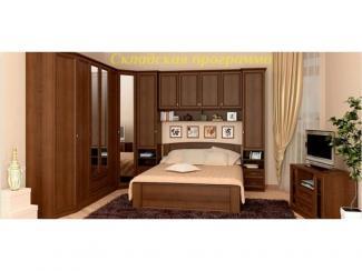 Спальный гарнитур Марта орех - Мебельная фабрика «Ясень»