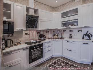 Кухня угловая Белая эмаль - Мебельная фабрика «Маруся мебель»