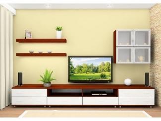 Низкая гостиная стенка - Мебельная фабрика «Нижнетагильская мебельная фабрика»