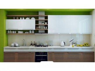 Современная кухня Wooden - Мебельная фабрика «Лига»