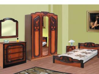 спальня Азалия Элит набор 1 - Мебельная фабрика «Долес»