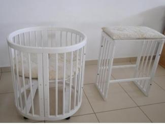 Кроватка детская разборная - Мебельная фабрика «Версаль»