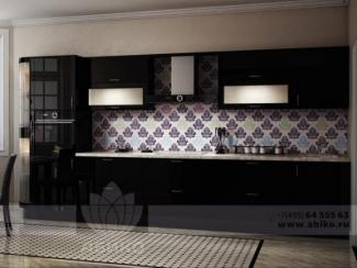 Кухня Сириус Чёрный - Мебельная фабрика «Абико»