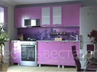 Кухонный гарнитур Мадена Фиолетовый металик  - Мебельная фабрика «Веста»