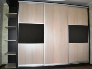 Вместительный прямой шкаф-купе Рада  - Мебельная фабрика «Анкор»
