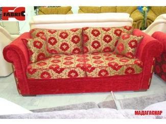 Красный диван Мадагаскар  - Мебельная фабрика «Бис»