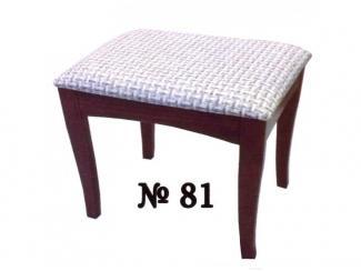 Банкетка 81 из массива бука - Мебельная фабрика «Нормис»