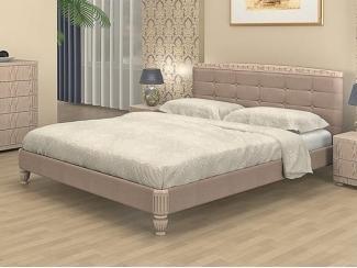 Светлая кровать Эвита  - Мебельная фабрика «Торис»