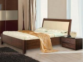Кровать Руно 5 массив бука - Мебельная фабрика «Диамант-М»