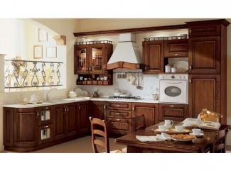 Высокая угловая кухня Классика  - Мебельная фабрика «Вектра-мебель»