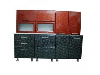 Прямая кухня Лаура - Мебельная фабрика «Мебель эконом»