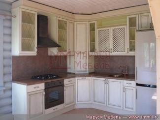 Кухня угловая Кантри фасад ясень - Мебельная фабрика «Маруся мебель»