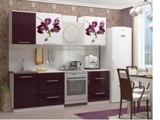 Кухонный гарнитур Орхидея