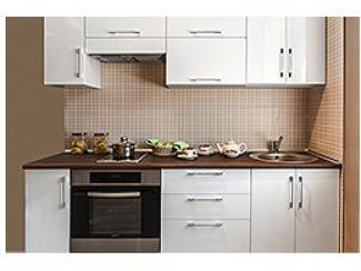 Кухонный гарнитур прямой Уна 3 - Мебельная фабрика «Камеа (Квартира 48)»