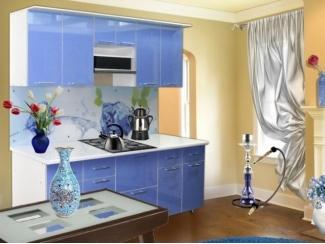 Голубая кухня Модерн 11