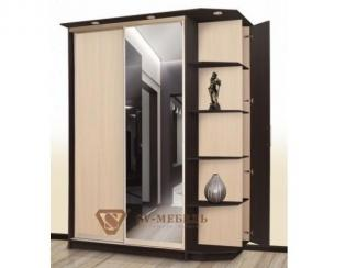 Шкаф-купе 9 с открытыми полками - Мебельная фабрика «SV-мебель»